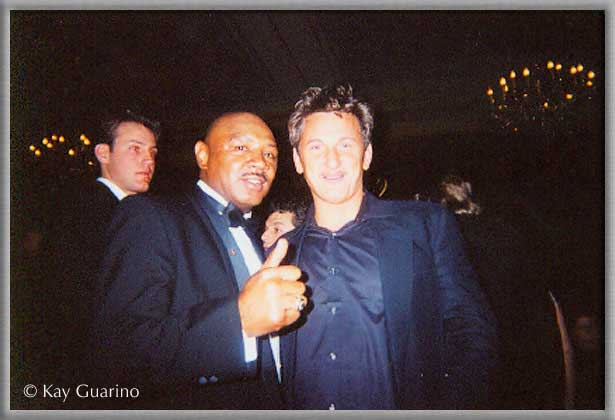 The Marvelous One with actor Sean Penn.