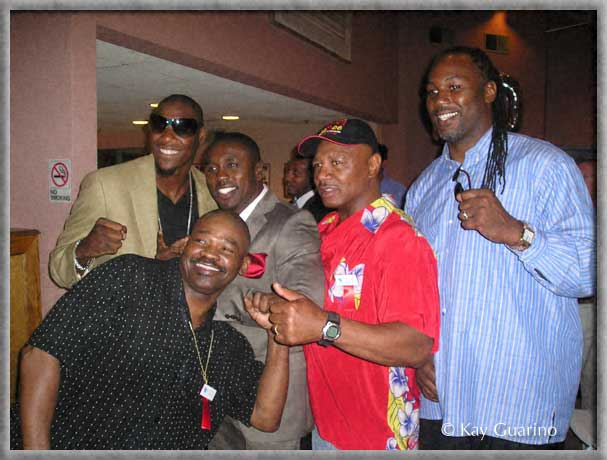 The Marvelous One at 2009 Boxing Hall of Fame weekend with<br />