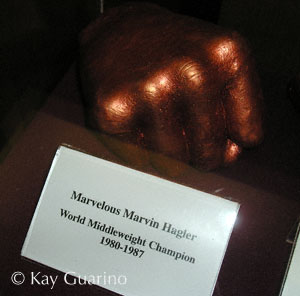 Cast of Marvelous' fist in the Boxing Hall Of Fame