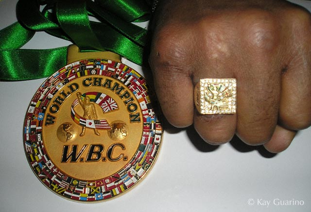 Honorary WBC Ring and Medallion Belt