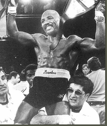 Marvelous Marvin Hagler Champion of the world